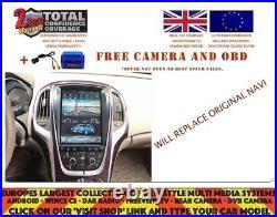 10.4 TESLA DVD GPS NAVI BT ANDROID 7.1 DAB RADIO VAUXHALL OPEL ASTRA J NH-1049s