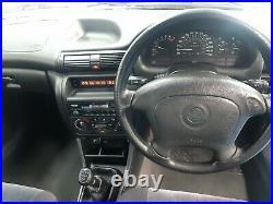 1996 Vauxhall Astra Montana Hi-torq 1389 Petrol Manual 5 Door Hatchback