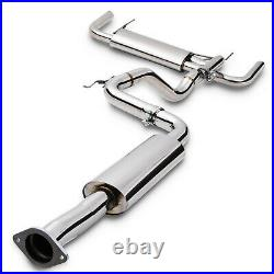 2.75 Stainless Cat Back Exhaust System For Vauxhall Opel Astra J Mk6 Gtc Vxr