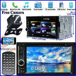 2 DIN CD DVD Car Stereo Radio Mirror Fit For Vauxhall Opel Astra H/Combo/Zafira