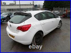 2012 62 Vauxhall Astra 1.7 CDTI EcoFlex Spares or repair Damaged CAT S