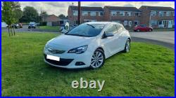 2013 Vauxhall Astra GTC 2.0 CDTi SRi 3dr Coupe Diesel White No Reserve