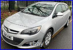 2015 Vauxhall Astra 1.6 CDTi ecoFLEX Design Sport Tourer (s/s) 5dr ULEZ free