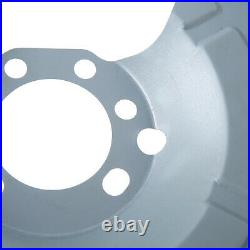 2x Rear Brake Disc Splash Plate for Vauxhall Astra G H Combo C Meriva Zafira A B