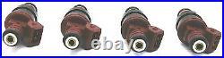 4x VAUXHALL OPEL GSI GTE C20XE C20LET UPGRADE FUEL INJECTORS 360cc 0280150431