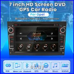 7 Sat Nav RADIO GPS For Vauxhall/Opel Astra Corsa Vectra Stereo DVD DAB+ SWC BT