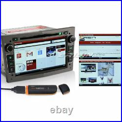 7160PGS 7Coche Reproductores DVD Radio 3G OPEL Corsa Astra Meriva Vectra Zafira