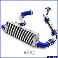 Alloy Front Mount Intercooler Fmic Kit For Vauxhall Opel Astra G Mk4 2.0 Z20let