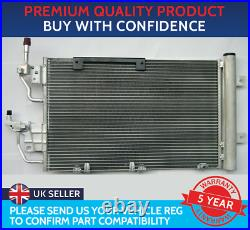 CONDENSER AIR CON RADIATOR TO FIT VAUXHALL ASTRA H MK5 ZAFIRA B VXR TURBO CDTi