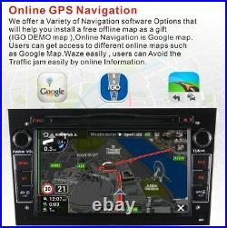 Car DVD Radio DAB stereo SAT NAV Opel Corsa D Astra H Antara Vivaro Meriva B Map