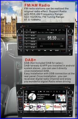 Carplay ANDROID10 VAUXHALL CORSA C/D Vectra Zafira B Astra Vivaro Stereo Sat Nav