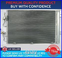 Condenser Air Con Radiator To Fit Vauxhall Zafira B Mk2 Astra H Mk5 Petrol