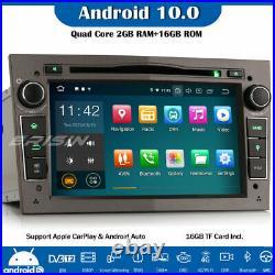 DAB+Android 10.0 Car Radio Sat Nav SWC Vauxhall Vivaro Corsa Vectra Astra Zafira