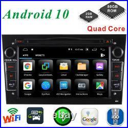 DAB+ Android 10 Car Stereo Vauxhall Opel Vivaro/Astra H/Corsa DVD GPS Navi Radio