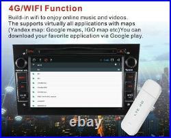 DAB Car Stereo For Opel Vauxhall Corsa Antara Vectra Zafira 7 DVD GPS Radio BT