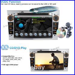 Double DIN 7 Car DVD GPS Stereo DAB+Bluetooth for Opel Vauxhall Corsa Zafira bt