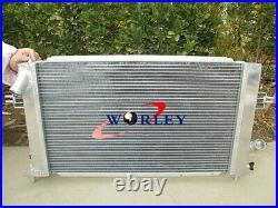 FOR Opel Vauxhall Astra VXR Z20LEH Turbo Engine Alloy Aluminum Radiator + FANS