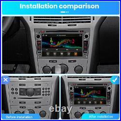 For Opel Vauxhall Astra Antara Vivaro Car Stereo DVD Radio Bluetooth GPS Sat Nav