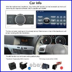 For VAUXHALL Opel Corsa Antara Astra Vectra Meriva swc DAB+ stereo GPS sat nav