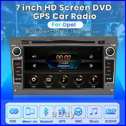 For Vauxhall/Opel Astra Corsa Vectra Stereo 7 DVD GPS Sat Nav radio DAB+ SWC BT