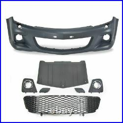 For Vauxhall / Opel Astra H 3-Door Front Bumper GSI / OPC ABS Plastic