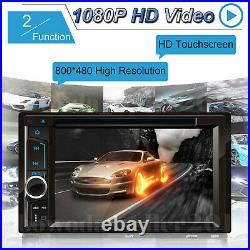 For Vauxhall Opel Astra H/Combo/Zafira Double 2DIN 6.2 In dash Car Stereo Radio