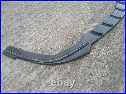 Front Diffuser (gloss Black) Fits For Vauxhall/opel Astra H Vxr (2005-2010)