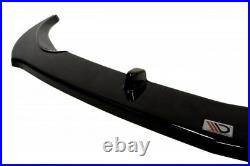 Front Diffuser (gloss Black) Fits For Vauxhall/opel Astra J Gtc (2012 2015)