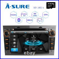 Grey 7 DVD Radio head unit GPS SATNAV DAB+ For opel VAUXHALL/ASTRA/CORSA/Zafira