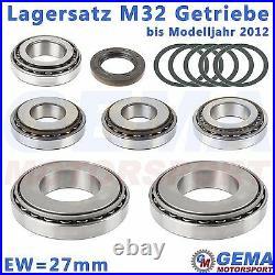 Lagersatz M32 Getriebe C544 27mm Reparatur Opel Astra Fiat Bravo Alfa 159 Cruze