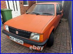 Mk1 vauxhall astra estate retro classic orange