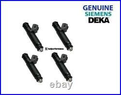 NEW Siemens Deka 60lb 630cc EV1 Injectors Set of 4 VW VAUXHALL SAAB OPEL (4)
