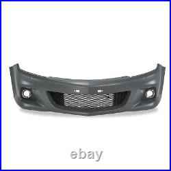 OPEL VAUXHALL ASTRA H MK5 VXR OPEL OPC FRONT BUMPER inc GRILLES ABS PLASTIC NEW