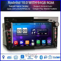 Octa Core DAB+Car Stereo Android 10 GPS CD Vauxhall Corsa D Vectra Zafira Astra