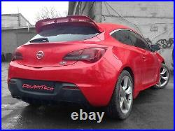 Opel Vauxhall Astra J GTC OPC VXR Custom Tuning Sport Spoiler(DesArtTech)