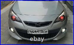 Opel Vauxhall Astra J GTC VXR Custom Tuning Sport Radiator Grill (DesArtTech)