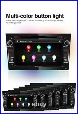 Pumpkin 7 2 Din Car Stereo DVD GPS Sat Nav For Opel Vauxhall Astra Corsa Zafira