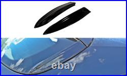 Rear Side Spoiler Extension For Vauxhall/opel Astra H Vxr (2005-2010)