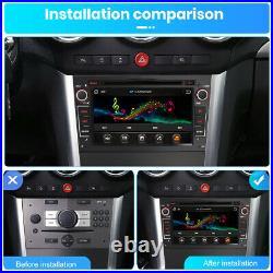Sat Nav RADIO GPS For Vauxhall/Opel Astra Corsa Vectra Stereo DVD 7 DAB+ SWC bt