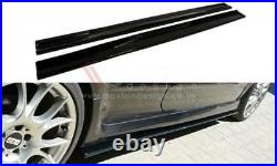 Side Skirts Add-on Diffusers For Vauxhall/opel Astra H Vxr/opc (2005-2010)