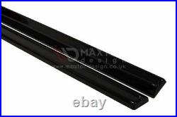 Side Skirts Add-on Diffusers For Vauxhall/opel Astra J Gtc (2009-2015)