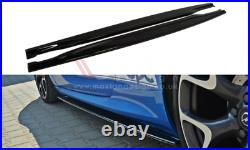 Side Skirts Add-on Diffusers For Vauxhall/opel Astra J Vxr/opc (2009-2015)