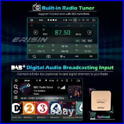 Single Din Android 10 Car Radio Stereo DAB Sat Nav OBD WiFi TPMS DVR Deatchable