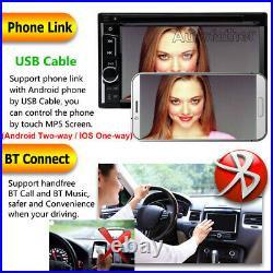 Sony Len Camera+double 2din Car Radio CD Player Stereo Vedio Mirror Link For Gps