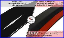 Spoiler Extension/cap/wing For Vauxhall/opel Astra J Gtc (2012-2015)