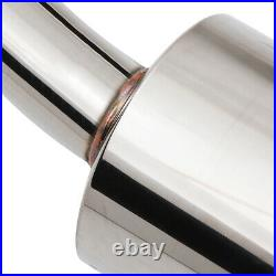 Stainless Cat Back Exhaust System For Vauxhall Opel Astra H Mk5 2.0 Z20lel Sri