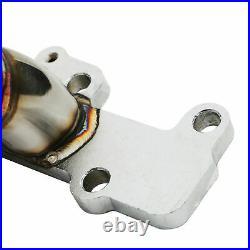 Stainless Exhaust Manifold De Cat Decat For Vauxhall Opel Astra G Mk4 1.8 Z18xe