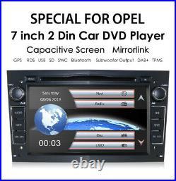VAUXHALL Opel Corsa Antara Astra Vectra Meriva DAB+ stereo GPS sat nav swc DVD