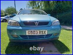Vauxhall Astra Convertible