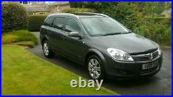 Vauxhall Astra Estate 1.7 Cdti (£30 Low Road Tax) New Shape Model Long Mot